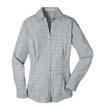 L639 - Ladies' Plaid Pattern Easy Care Shirt
