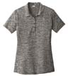 LST590 - Ladies' Electric Heather Polo