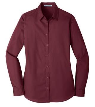 Ladies' Long Sleeve Carefree Shirt