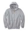 CTK122 - Midweight Hooded Zip-Front Sweatshirt