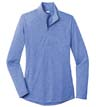 LST407 - Ladies Tri-Blend 1/4-Zip Pullover