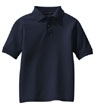 Y500A - Youth Silk Touch Polo