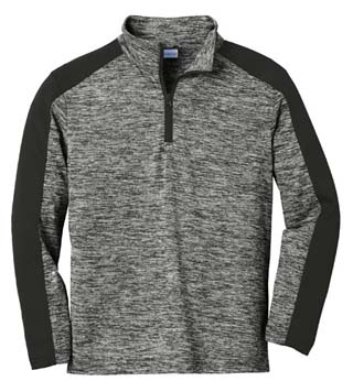 Youth Electric Heather 1/4-Zip Pullover