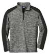YST397 - Youth Electric Heather 1/4-Zip Pullover
